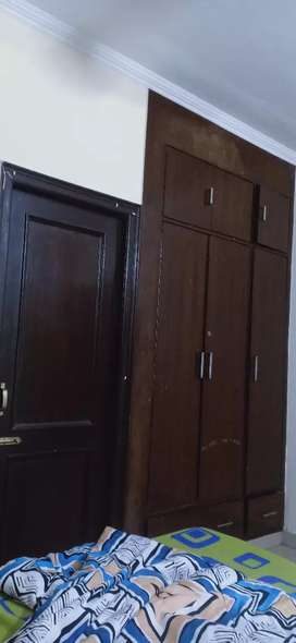 Semi furnished flat for rent 22000 plz contact