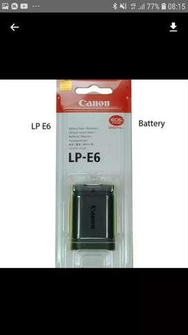 Baterai canon LP-E6