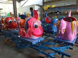RST Dijual odong ikan nemo mainan kuda genjot kereta panggung IIW