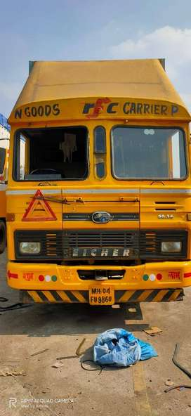 Eicher 20.16 32 FT Container Single Axle 06 Tyre 2013 (MH04FU9860)