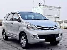 Toyota Avanza G manual 2015 plat genap