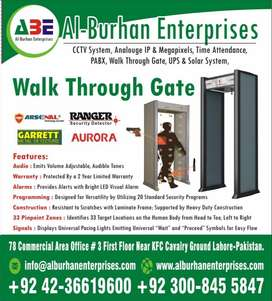 Walk Through Metal Detector Gates All ZONE & All Brands Available