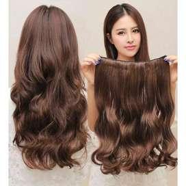 Hair clip curly
