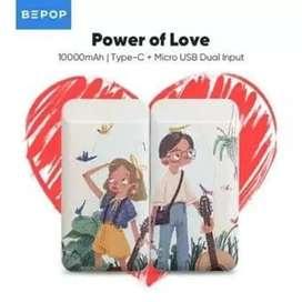 Bepop Powerbank Couple 10000mAh Dual