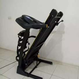 New black Treadmill TL636 tiga fungsi