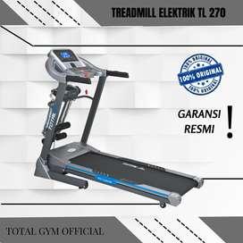 Alat olahraga Fitness TREADMILL ELEKTRIK 2 HP TL 270 FITUR PEREDAM HEN