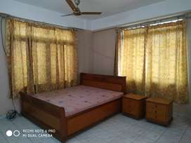 Fully furnished 3 bhk flat for rent at geetanagar