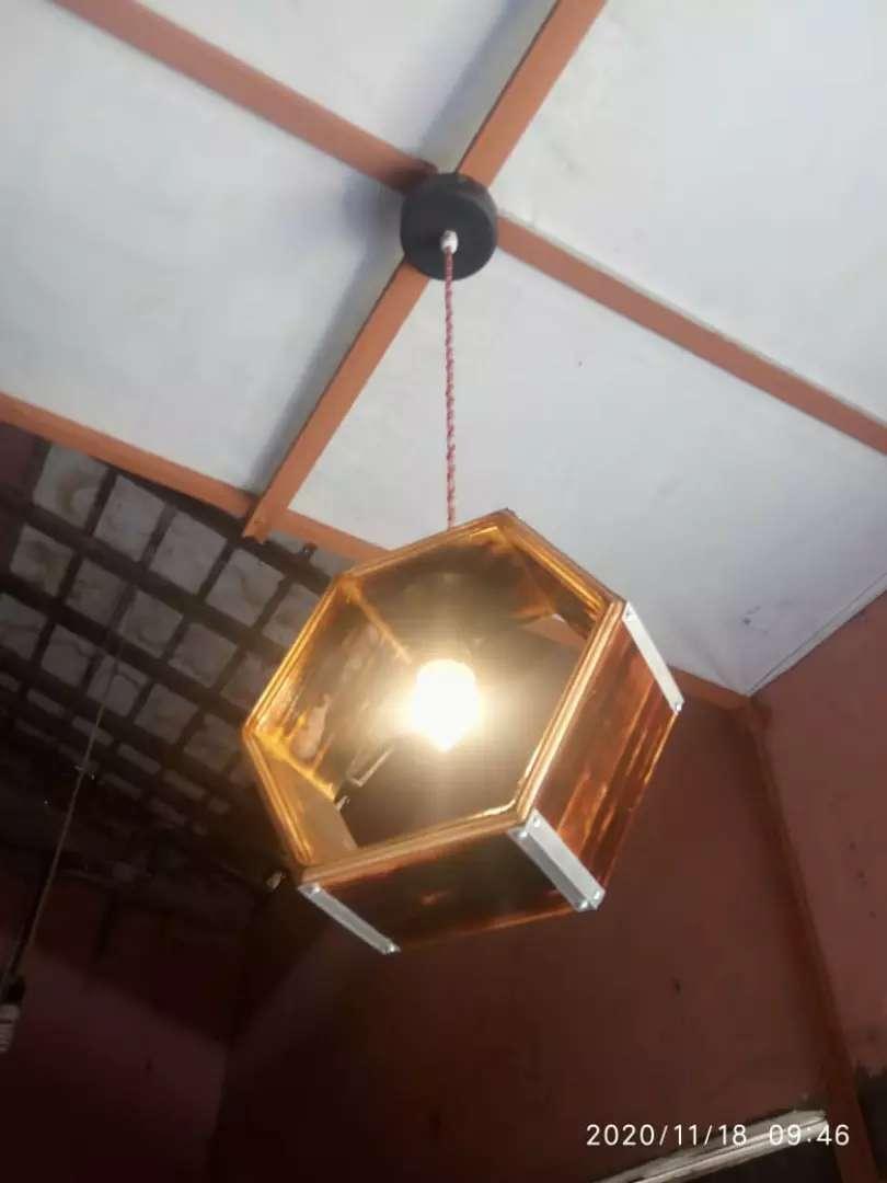 Lampu hias gantung jati londo 0