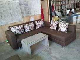 Sofa L putus, garansi 2th