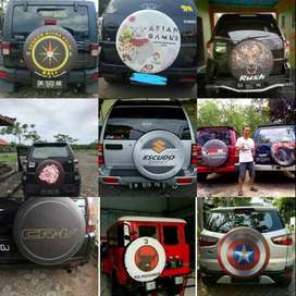 Jual Cover Ban Serep Touring-Hummer sarung ban rush terios CRV Indo Pu