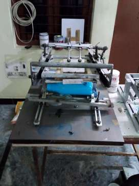 Bottles and  food container screen printer