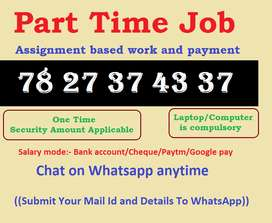 Start career with registered company in data entry field. Get appointm