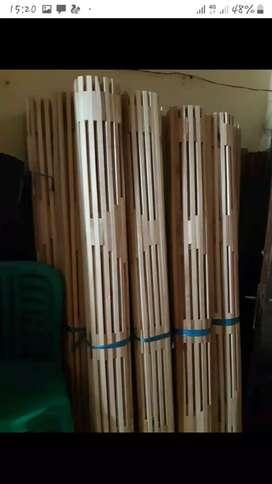 Izin jual tirai bambu,kayu miranti,rotan