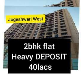 2bhk heavy deposit 40lacs flat in jogeshwari west