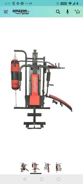 Multi Gym Set (heavy discount- MRP 49K), 2020 model