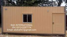 Prefabricated home porta cabin office containers toilets guard room.m