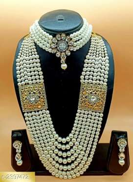 Partywear Women's Non Precious Metal Jewellery Sets