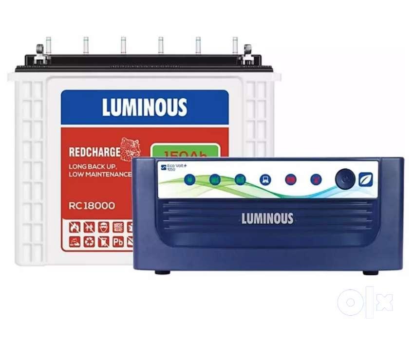 Luminous Tubular Battery 150 ah with Invertor
