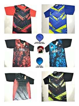 Baju / Atasan Badminton/ Bulutangkis