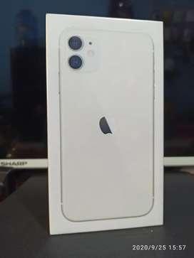 Iphone 11-64 gb ibox baru segelan utuh garansi resmi 1tahun