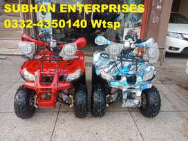 Zero Metre 125cc Bmw Jeep Atv Quad 4 Wheels Bike Deliver In All Pak