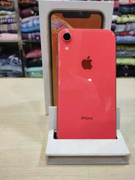 Showroom condition iPhone Xr 128gb orange With full box accessories
