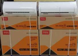 TCL 1 Ton DC inverter A.C { brand new box packed }