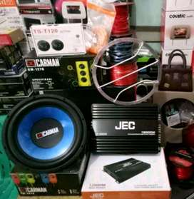 Plus Psang,Subwofer Carman+Power JEC+Tweter Ts+Tu2p Subwofer+Box+Kabel