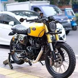 Kawasaki w175 caferacer japstyle boober