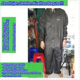 Jas Hujan(Baju dan Celana) KHN High Quality Jas Hujan Jahit & di Press