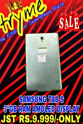TRYME 3Gb Ram SAMSUNG TAB S Super Amoled Screen