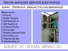 Perbaikan Ac ; Mesin cuci ; Showcas tidak dingin | isi freon Kulkas Ac