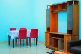 Sewa Harian Full 1 Rumah + Perabotan + lokasi strategis tengah kota