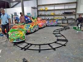 AF wahana mainana anak mini coaster Odong odong kereta tayo