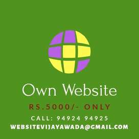 Own WEBSITE in just Rs. 5000/-