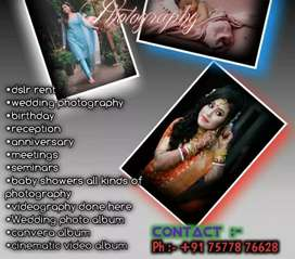 DSLR Renting Service... Photography and Videography service..