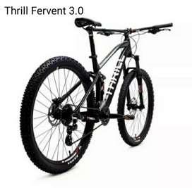 MTB Thrill Fervent 3.0 New 2021, 2x8Sp Hydraulic Brake - Free Ongkir -