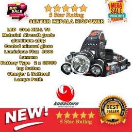 Senter Kepala Super Terang JIS0181 Suplier Kudastore Bali