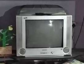 Samsung Megabass CRT color tv with woofer
