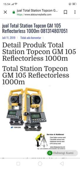 total station Topcon gm 105 promo say