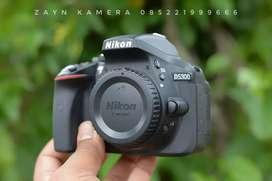 Nikon D5300 Body Only SC 3rb Mulus Lengkap