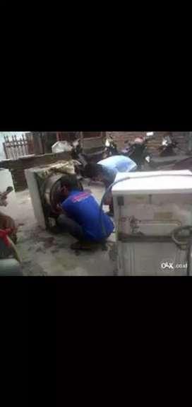 Jkt Service AC Tidak Dingin Servis Mesin Cuci Kulkas Freezer garansi