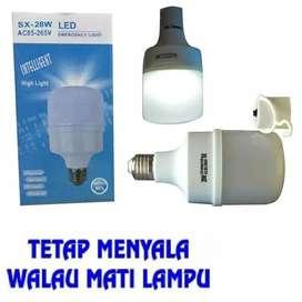 Bohlam Emergency Lampu Cerdas 28W Sentuh Nyala 50rb