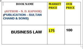 BUSINESS LAW (LAW BOOK)