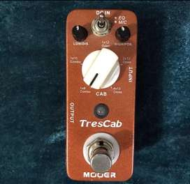 Efek Gitar Mooer Trescab 5 Models Cabinet Simulator