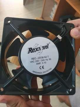 "New computer fan Rexnord Exhaust Fan REC A2 T (4"" x 4"" Square, Black)"