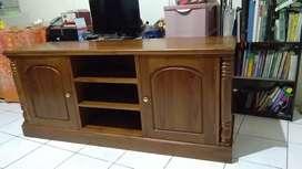 Pre order Bufed tv kayu jati