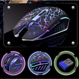 COD MOUSE GAMING GAMERS WIRELESS PC LAPTOP AZZOR SILENT 2400 DPI