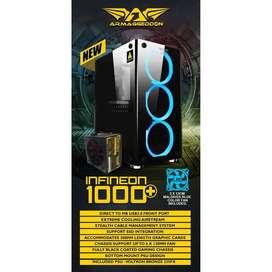 Casing PC Armaggeddon INFINEON 1000+ Micro Atx| By Astikom