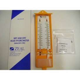Zeal Wet and Dry Thermometer (Min Max Thermometer)